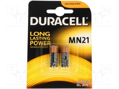 Picture of 23A Alkaline Battery 12V