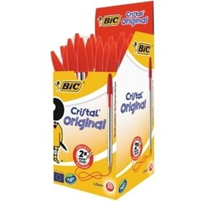 Picture of Bic Crystal Red Pens