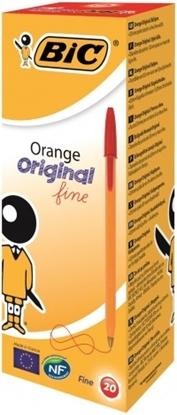 Picture of Bic Orange Fine  Red Pen