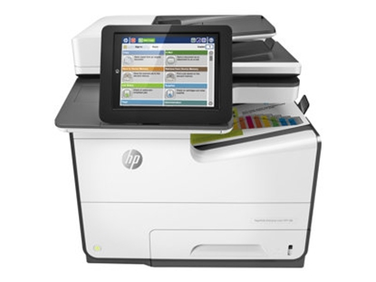 Picture of HP PageWide Ent Color MFP 586dn Printer