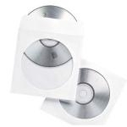 Picture of 100 CD / DVD Paper Envelopes