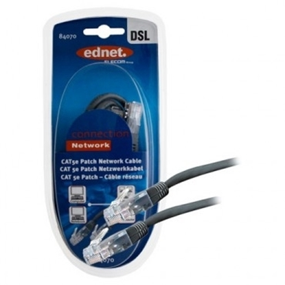 Picture of Ednet Ethernet Cable 5 Meters Cat 5e