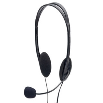 Picture of Ednet Multimedia stereo headset & microphone