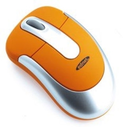 Picture of Ednet USB & PS/2 Orange Mouse