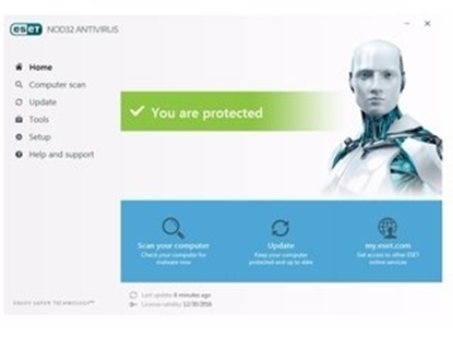 Picture of ESET NOD 32 Antivirus 1 Licenses for 1 Year