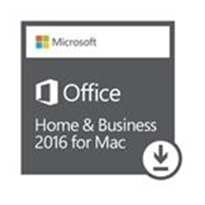Picture of Microsoft Office Home and Business 2016  for Mac - Download Version