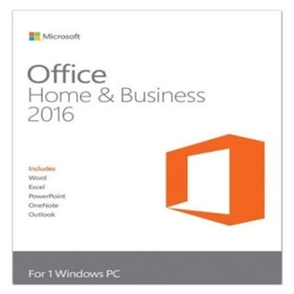 Picture of Microsoft Office 2016 Home and Business-Retail Version