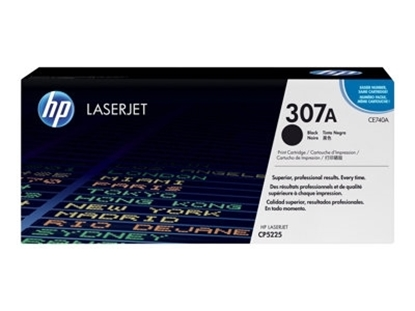 Picture of HP  #307A Black Toner for Colour LaserJet CP5225