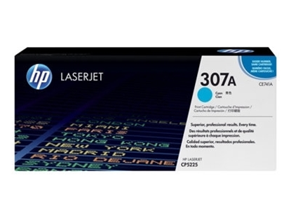 Picture of HP  #307A Cyan Toner for Colour LaserJet CP5225
