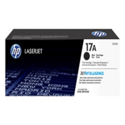 Picture of HP #17A  Black toner