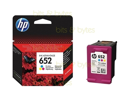 Picture of HP #652 Colour  Ink Advantage