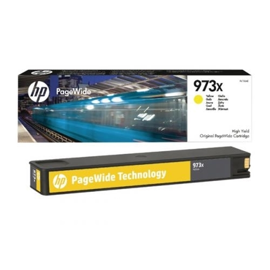 Picture of HP #973X  Yellow PageWidwe X477DW