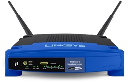 Picture of Linksys Wireless -G BroadBand Router