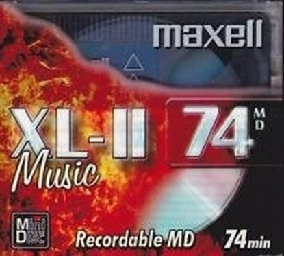 Picture of Maxell Mini Disk 74 Minutes