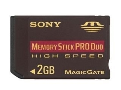 Picture of Sony Memory Stick Pro Duo 2GB