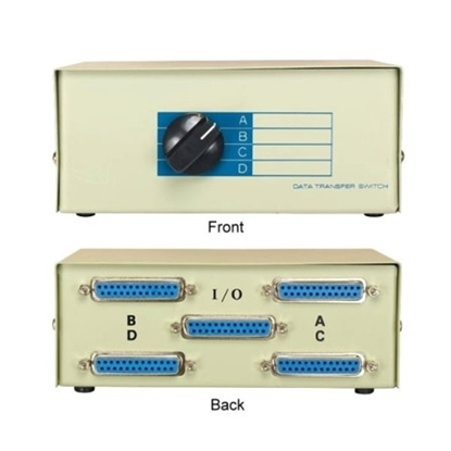 Picture of 4 Port Data Manual Switch
