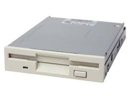 Picture of Samsung 3.5'' White Floppy Drive