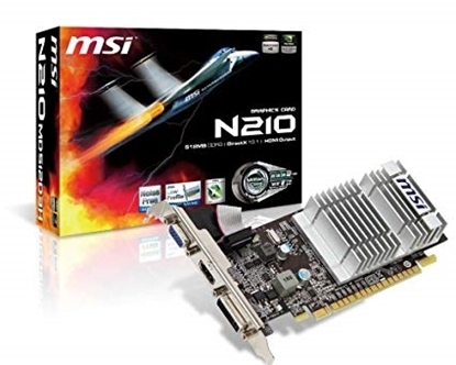 Picture of MSI NVIDIA  GF N210-MD1GD3H/LP