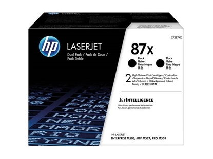 Picture of HP #87X 2Pack   LJ PRO  M527/ M506/ M501