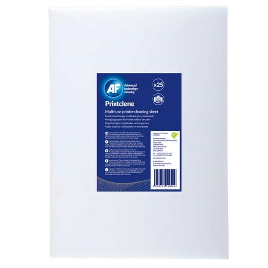 Picture of AF Printclene-Printer and toner cleaning sheet