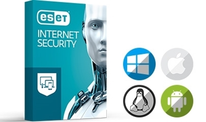 Picture of ESET Internet Security, 3 Year Licence for one user